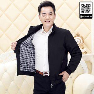 Áo khoác nam trung niên mẫu mới, hàng đẹp, mặc ấm