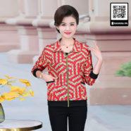 Áo khoác ngắn kiểu mới cho phụ nữ trung niên - 5