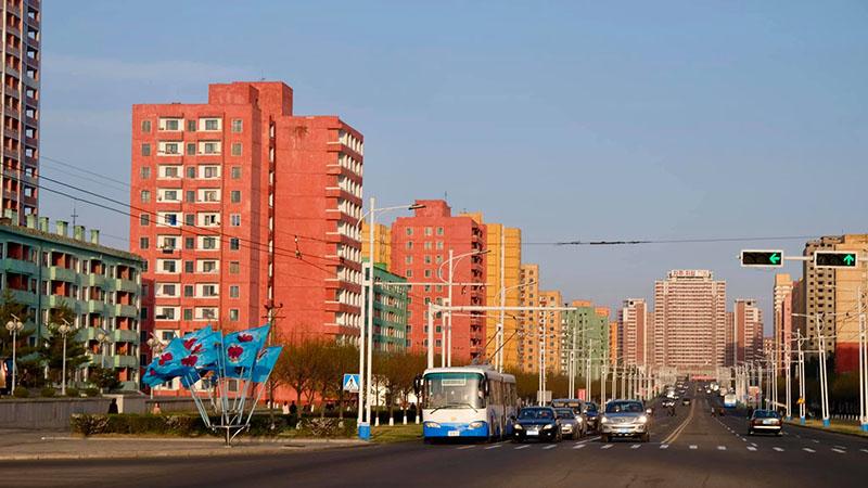 Đường phố ở Triều Tiên