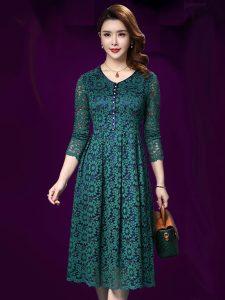 Đầm trung niên đẹp, sang trọng, quý phái cho quý cô yêu thanh lịch