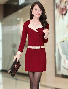 Đầm trung niên tôn vinh vẻ đẹp phụ nữ á đông