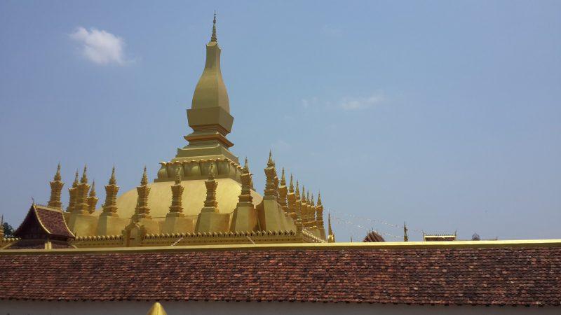 Đỉnh chùa vàng That Luang