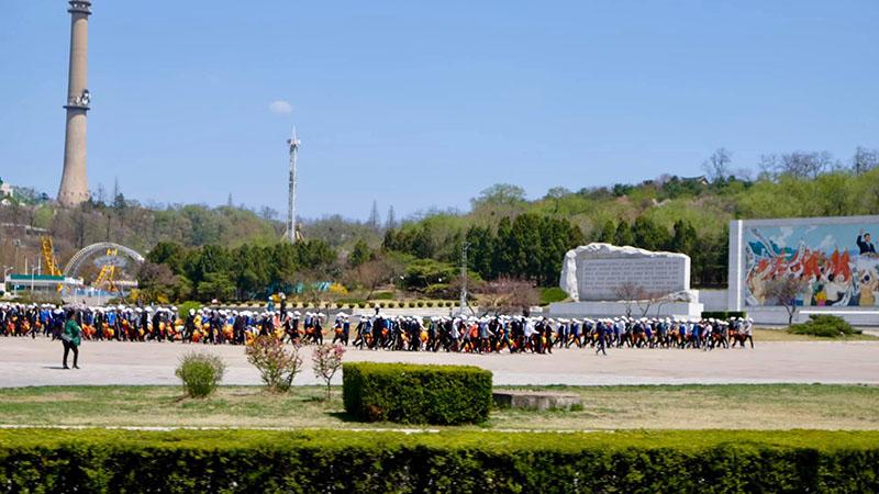 Đồng diễn thể dục tại Triều Tiên