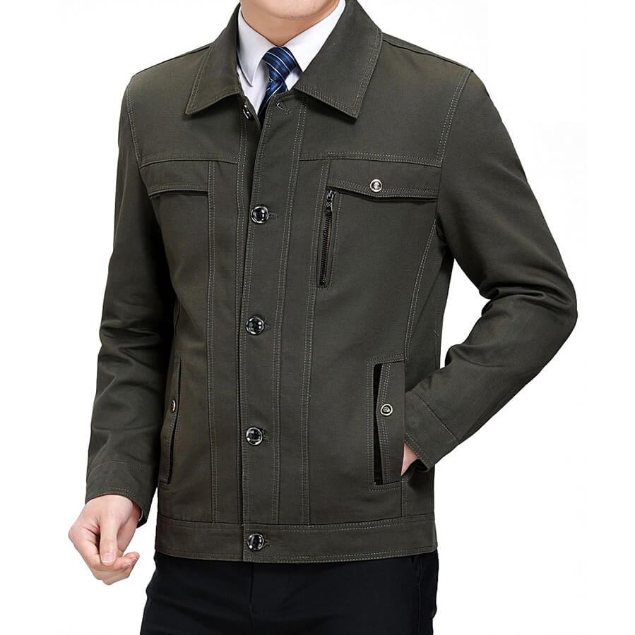 Cách chọn mua áo khoác nam tuổi 50 vừa ấm vừa đẹp