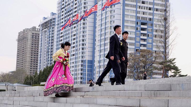 Cô dâu chú rể Triều Tiên
