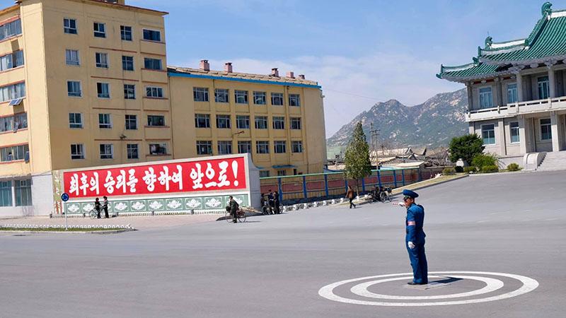 Cảnh sát giao thông ở Triều Tiên