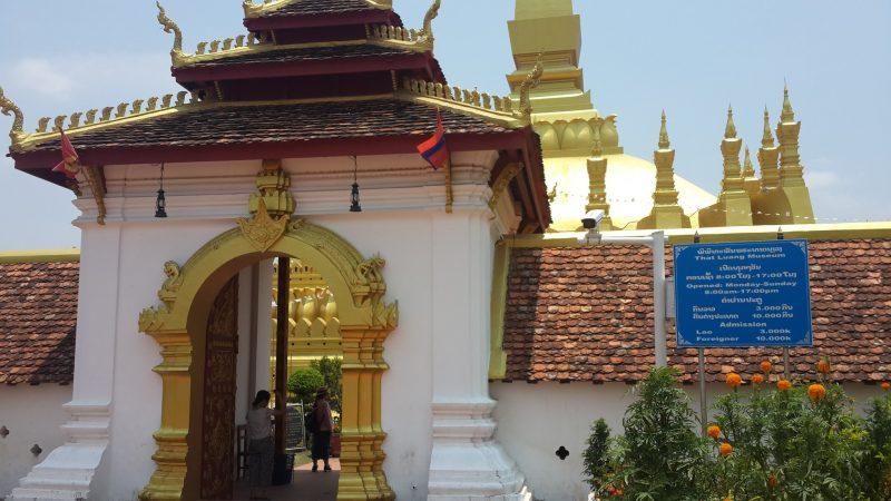 Chùa vàng That Luang