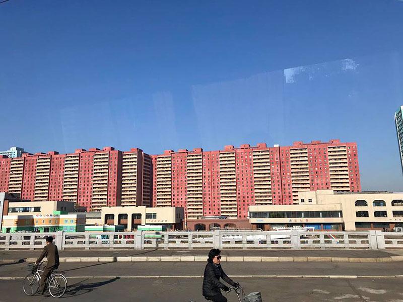 Chung cư cũ tại Triều Tiên