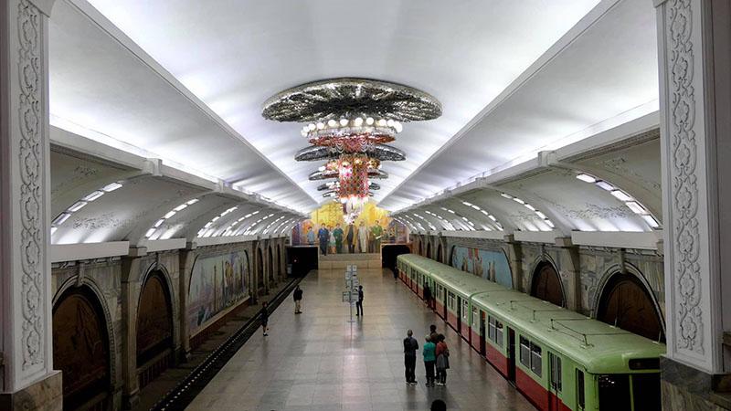 Gà tầu điện ngầm Triều Tiên