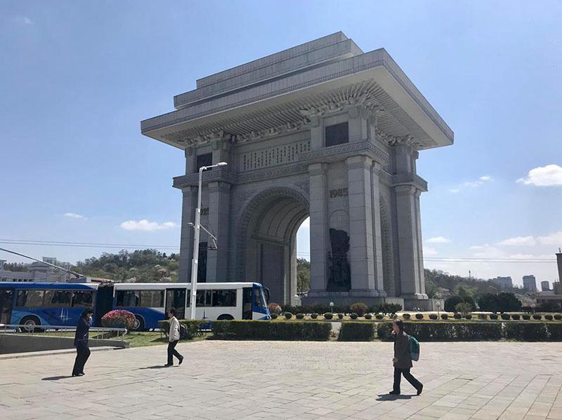 Khải Hoàn Môn ở Triều Tiên