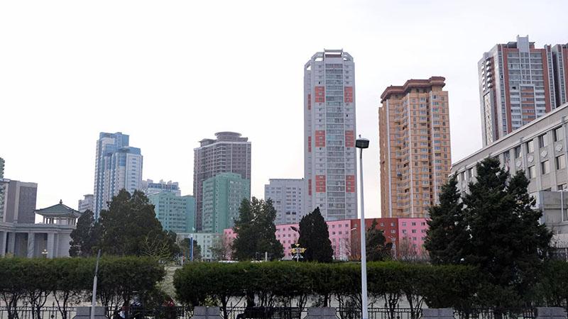 Khu chung cư tại Triều Tiên