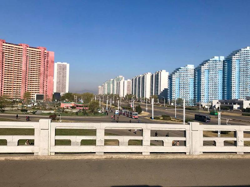 Một góc thành phố Bình Nhưỡng, Triều Tiên