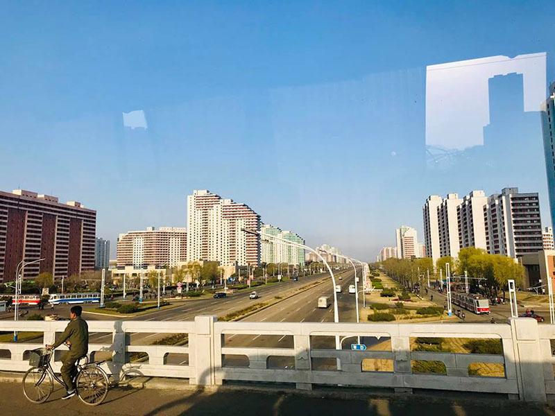 Một khu dân cư khác của Triều Tiên