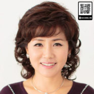 Tóc giả nữ trung niên cao cấp Xahara mẫu Z1