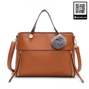 Túi xách da PU cao cấp dành cho nữ, size lớn