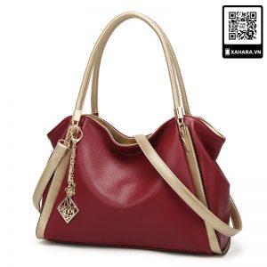 Túi xách da mềm thời trang sành điệu cho nữ, nhiều màu