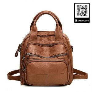 Túi xách kiểu Messenger size lớn, khoác vai, da PU cao cấp