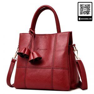 Túi xách nữ kiểu dáng Hàn Quốc dáng vuông, size lớn, nhiều màu