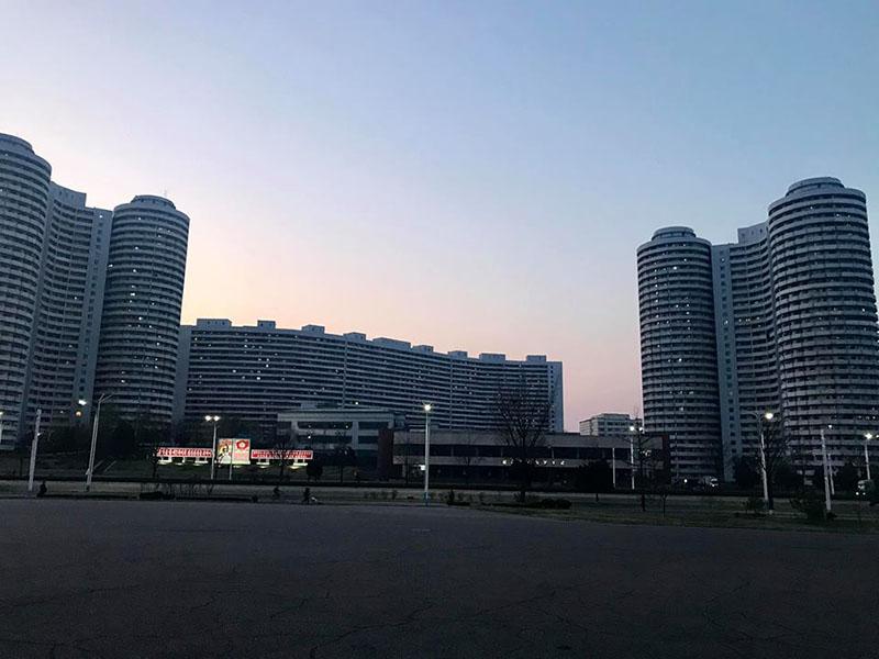 Thủ đô Bình Nhưỡng về đêm