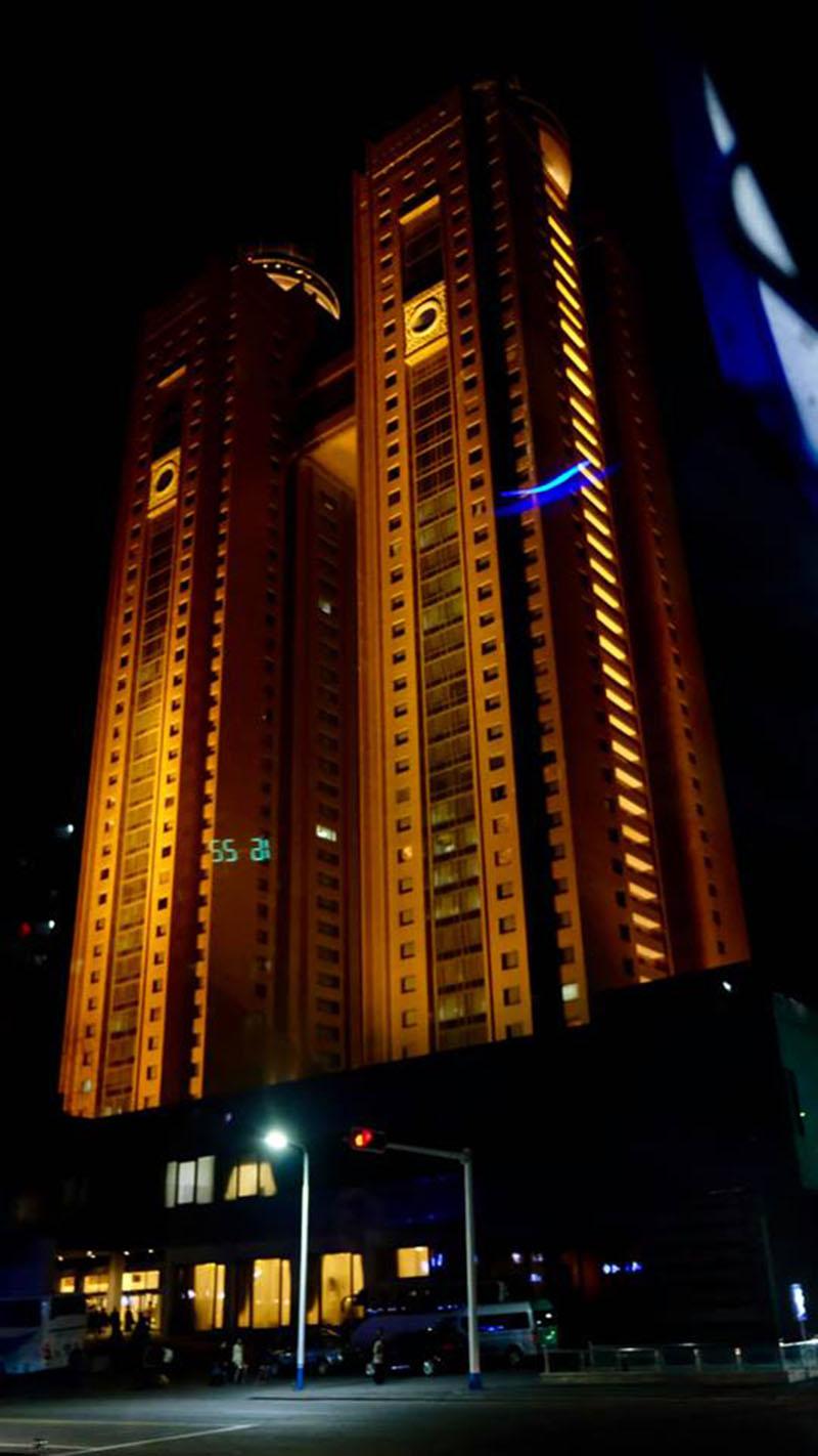 Triều Tiên về đêm