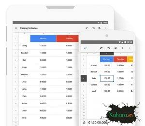 Giáo trình hướng dẫn sử dụng Google Sheet từ cơ bản đến nâng cao