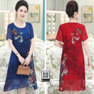 Váy đầm nữ trung niên Xahara FVD2462031