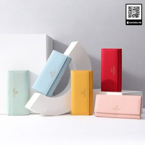 Ví nữ đa chức năng, thiết kế Hàn Quốc đơn giản, thanh lịch