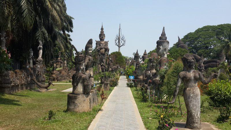 Vườn tượng Phật, Vientian