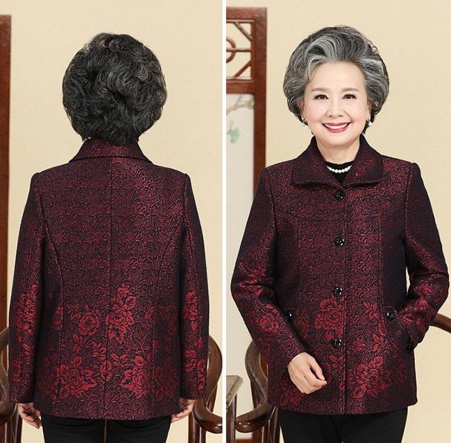 áo khoác cho người lớn tuổi đẹp