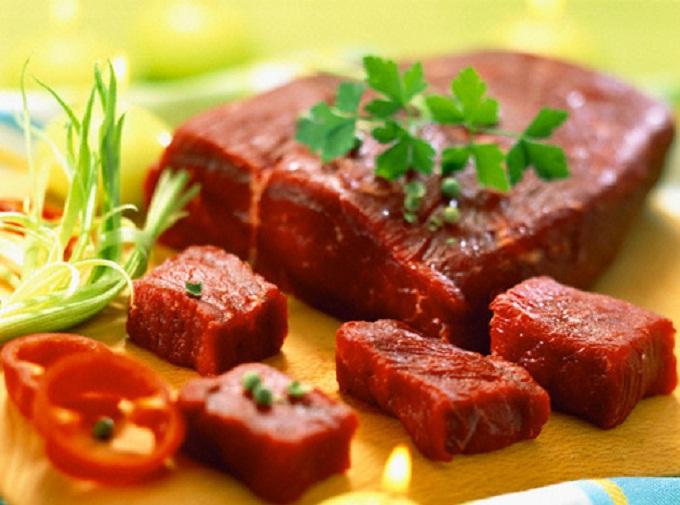 bổ sung protein từ thịt