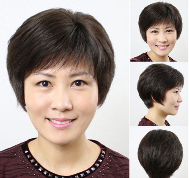 Bộ sưu tập các kiểu tóc ngắn cho người già, phụ nữ lớn tuổi