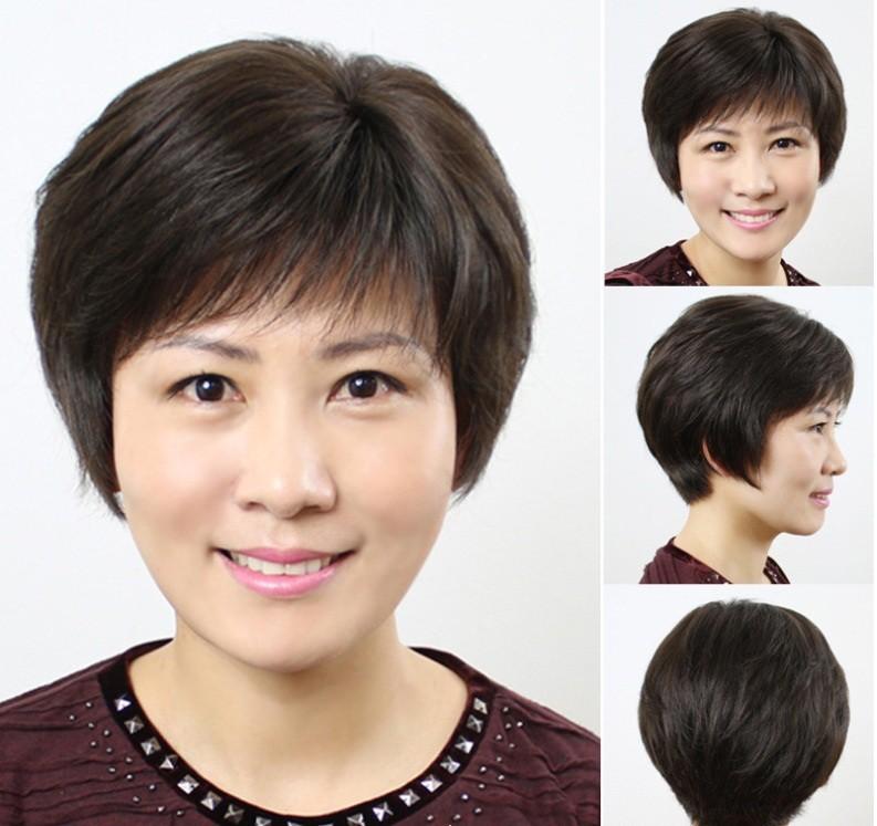 Các kiểu tóc ngắn giúp cho các quý bà thêm trẻ trung, sang chảnh và sành điệu hơn.