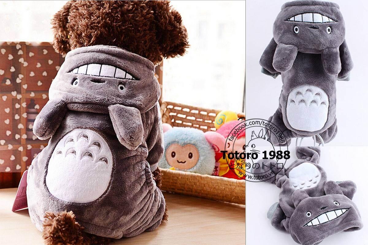 Biến thành nhân vật hoạt hình Totoro