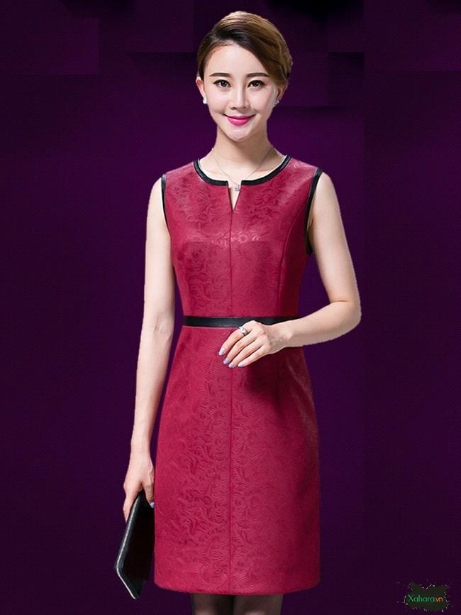 Đầm trung niên Hàn Quốc luôn tinh tế, hợp thời trang.