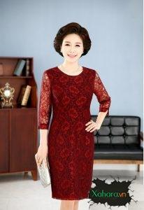 Bộ sưu tập những mẫu đầm trung niên kiểu dáng Hàn Quốc đẹp