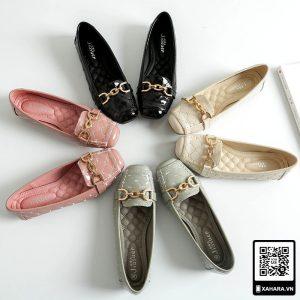 Giày nữ đế mềm cao cấp, mũi vuông thời trang kiểu Hàn Quốc