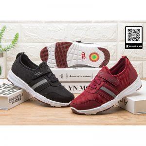 Giày thể thao chạy bộ giá rẻ, hàng Quảng Châu ôm chân, thoáng khí