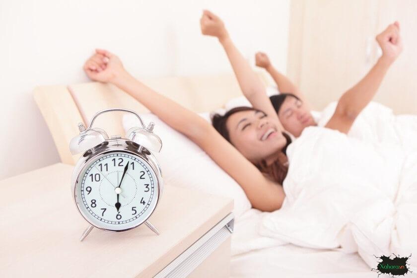 ngủ sớm hơn, dậy sớm hơn, vui vẻ hơn