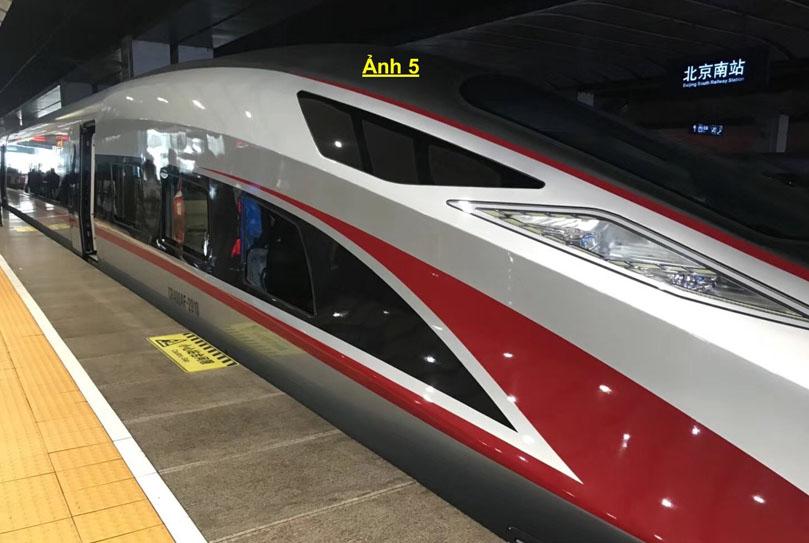 tàu cao tốc đi Quảng Châu ở Trung Quốc