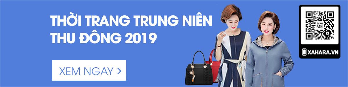 thời trang trung niên thu đông 2019