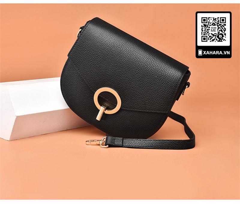 Túi xách thời trang Hàn Quốc size nhỏ da cao cấp nhiều màu đen