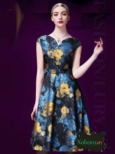 Váy đầm chữ A thanh lịch, sang trọng