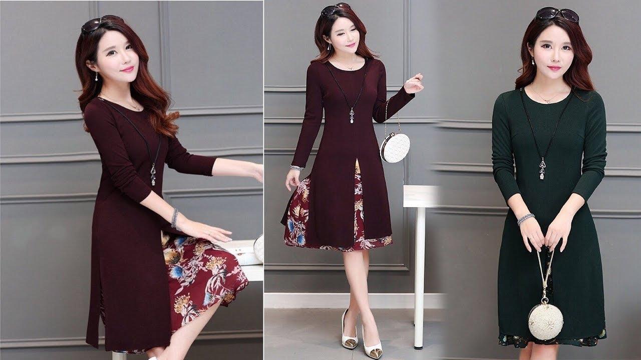 váy đầm trung niên 7- Xahara