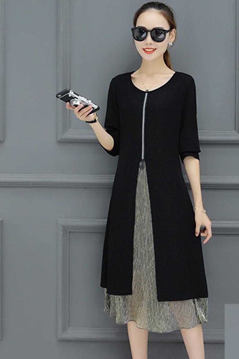 váy đầm trung niên 8- Xahara